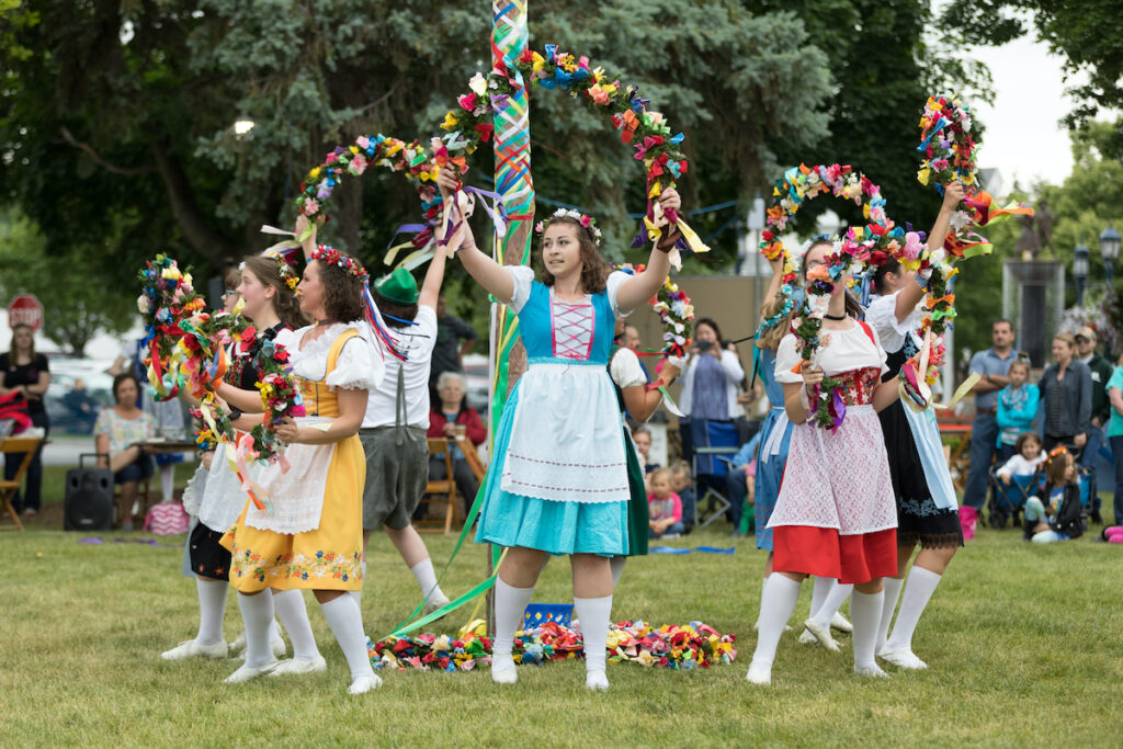 The Frankenmuth Bavarian Festival in Michigan.