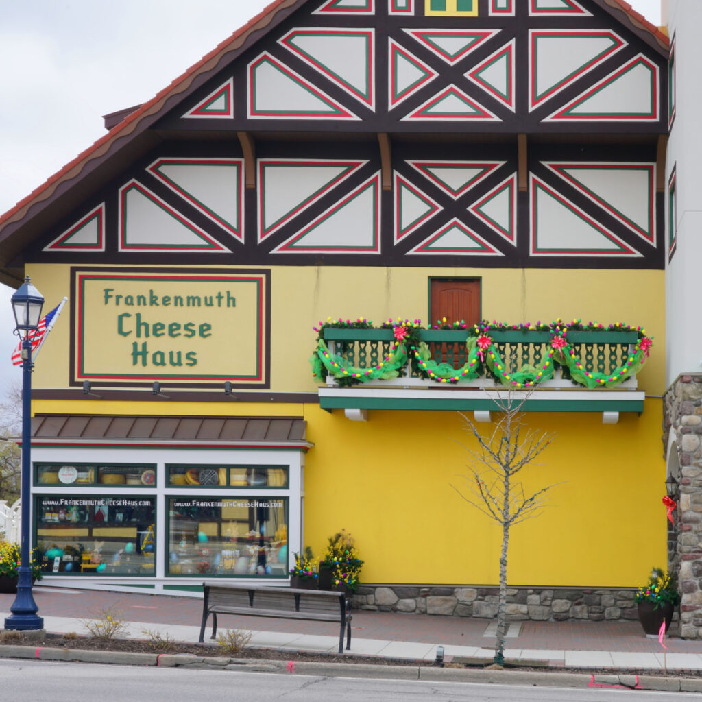 The Frankenmuth Cheese House in Michigan.