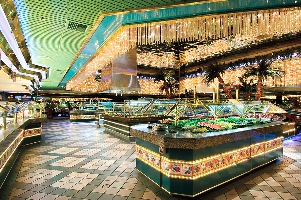 The Fremont Hotel and Casino's well-known buffet.
