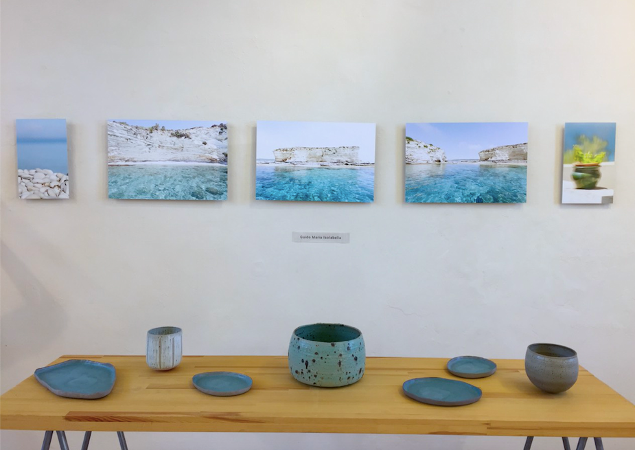 The gallery of Christopher Boicos in Gaios.