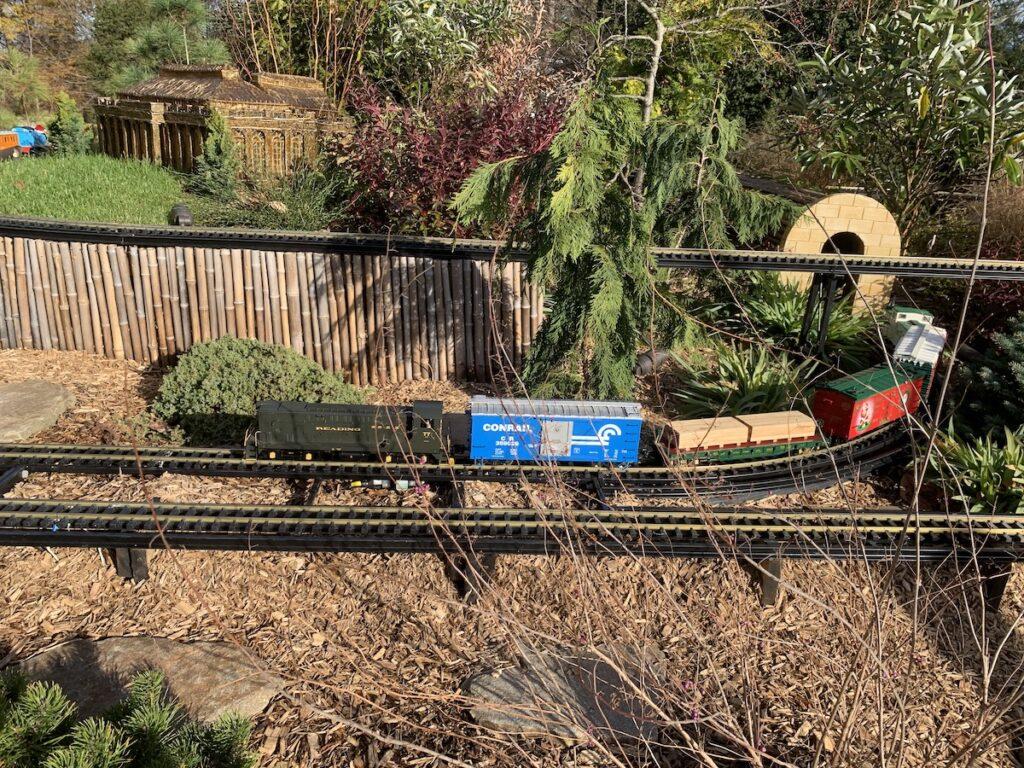 The Garden Railway at Longwood Gardens in Pennsylvania.