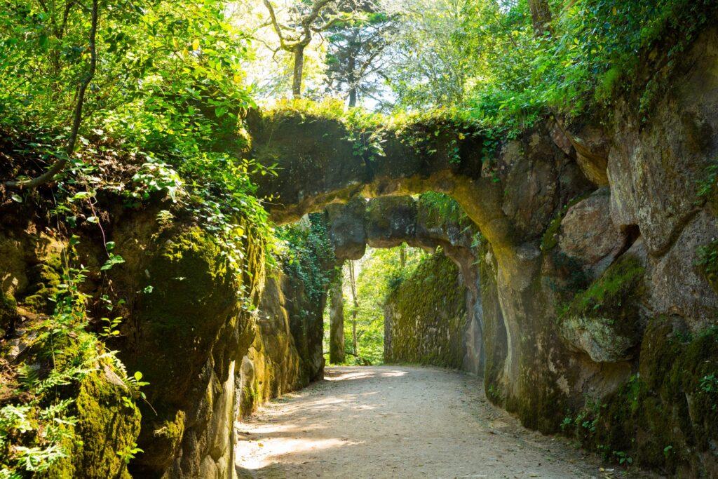 The gardens at Quinta Da Regaleira.