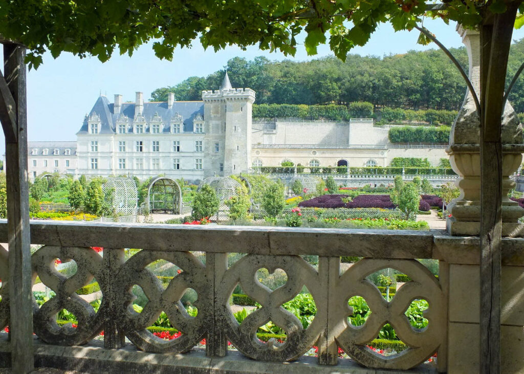 The gardens at the Chateau D'Usse.