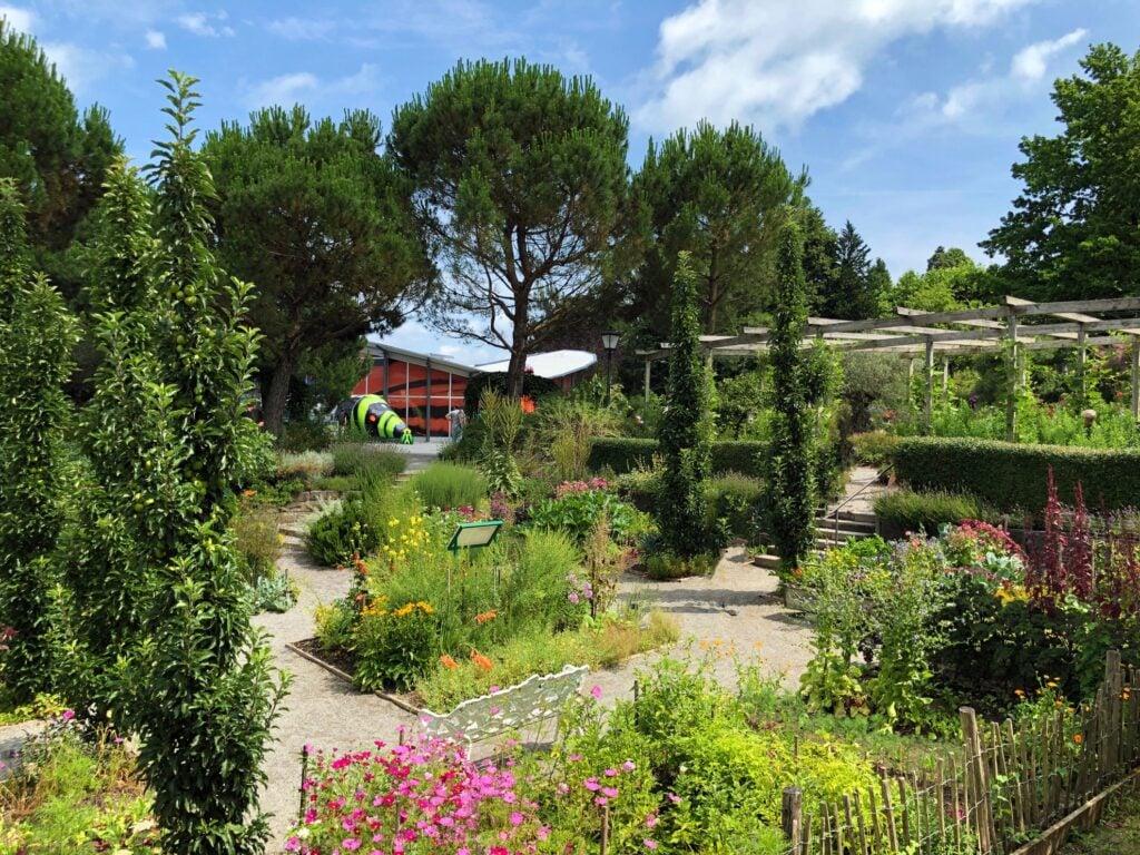 The gardens on the Isle of Mainau.