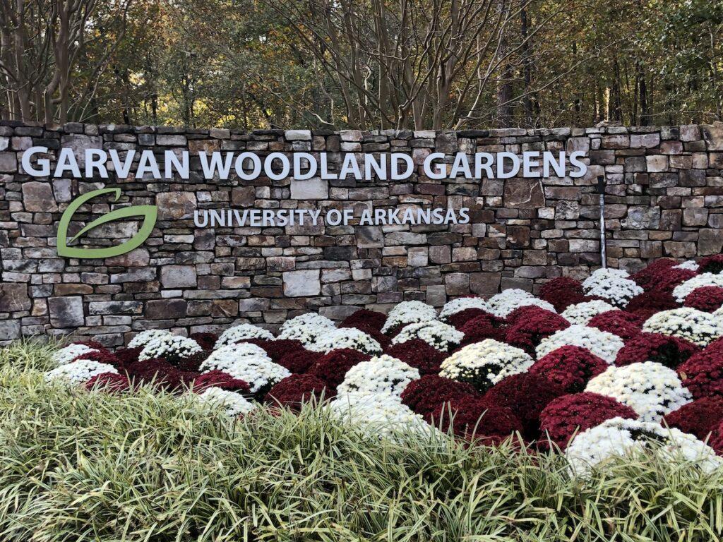 The Garvan Woodland Gardens in Arkansas.