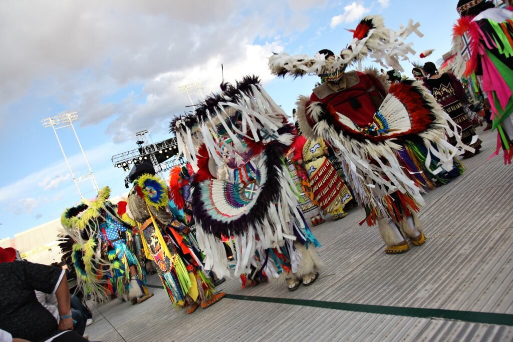 The Gathering of Nations powwow in Albuquerque.