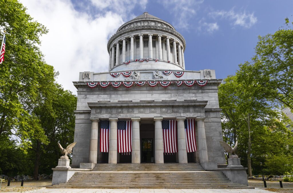 The General Grant National Memorial in New York City.