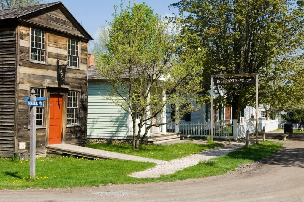 The Genesee Country Village and Museum in New York.