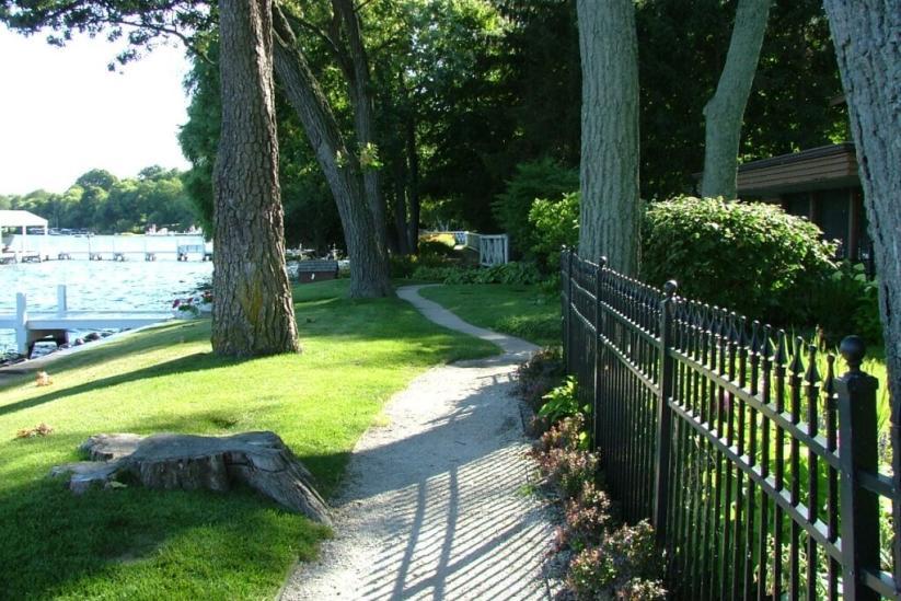 The Geneva Lake Shore Path in Wisconsin.