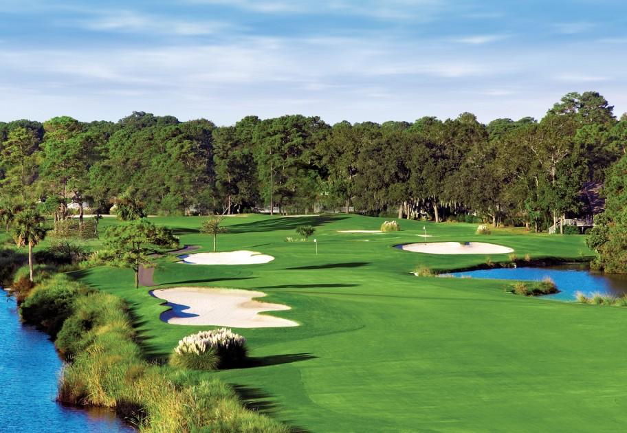 The George Fazio Golf Course at Palmetto Dunes.