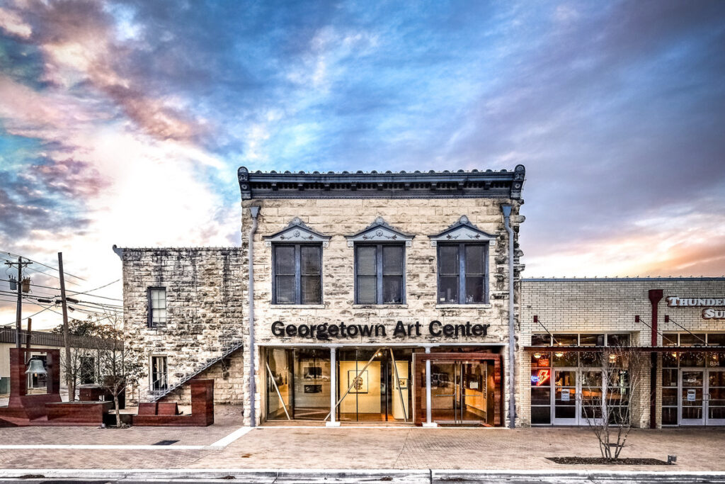 The Georgetown Art Center in a historic firehouse.