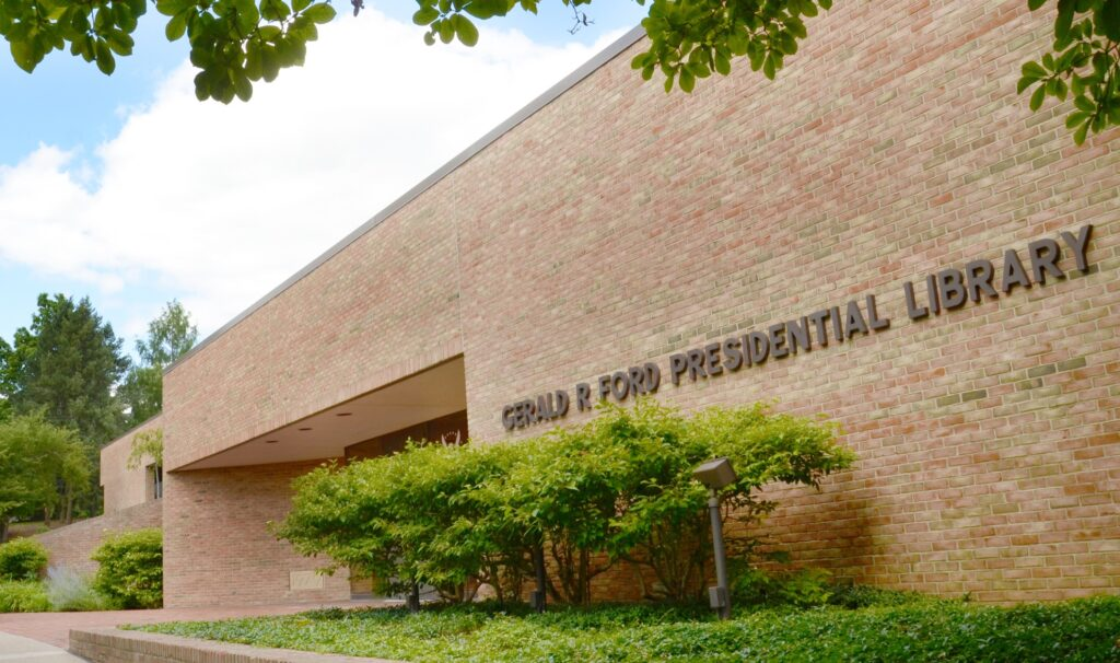 The Gerald R. Ford Presidential Library.