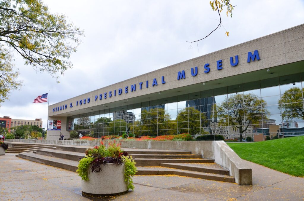 The Gerald R. Ford Presidential Museum.