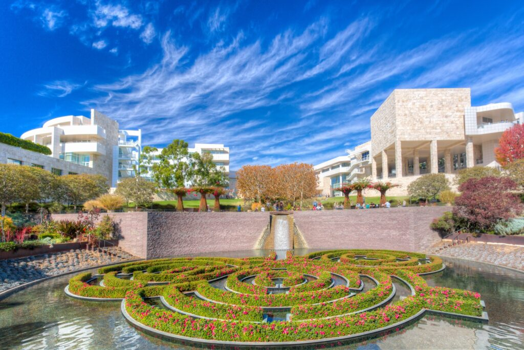 The Getty in Los Angeles.