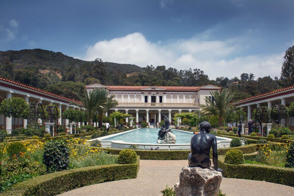 The Getty Villa in Malibu, California.