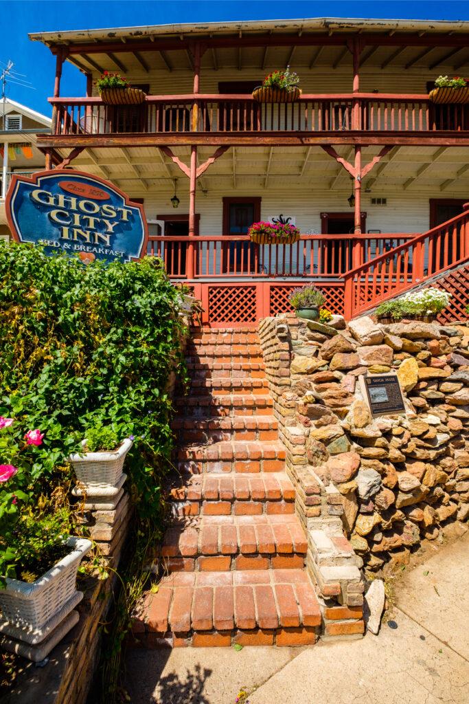 The Ghost City Inn in Jerome, Arizona.