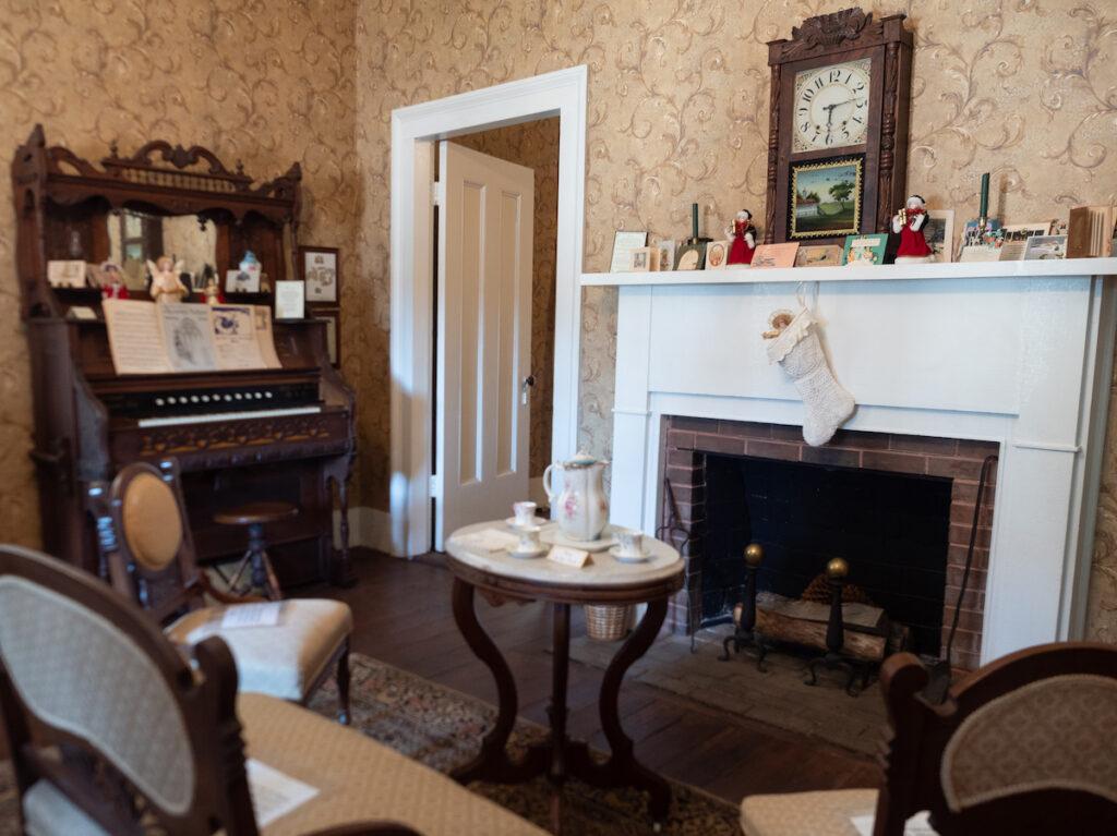 The Gibbs-Powell House Museum in Huntsville, Texas.