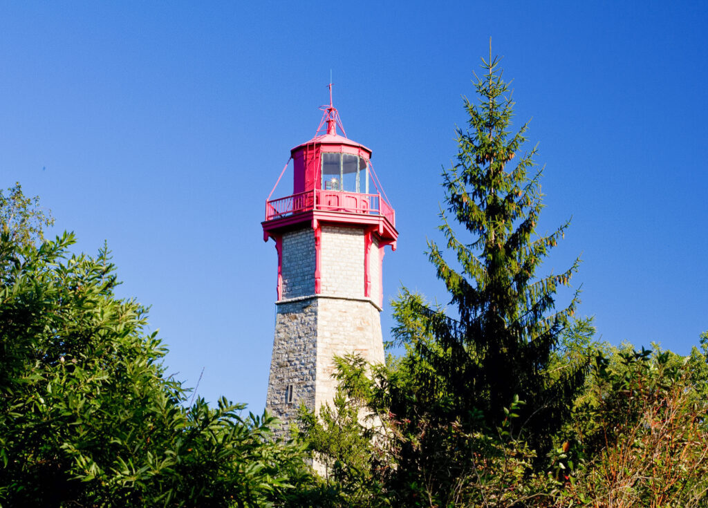 The Gibraltar Point Lighthouse in Toronto.
