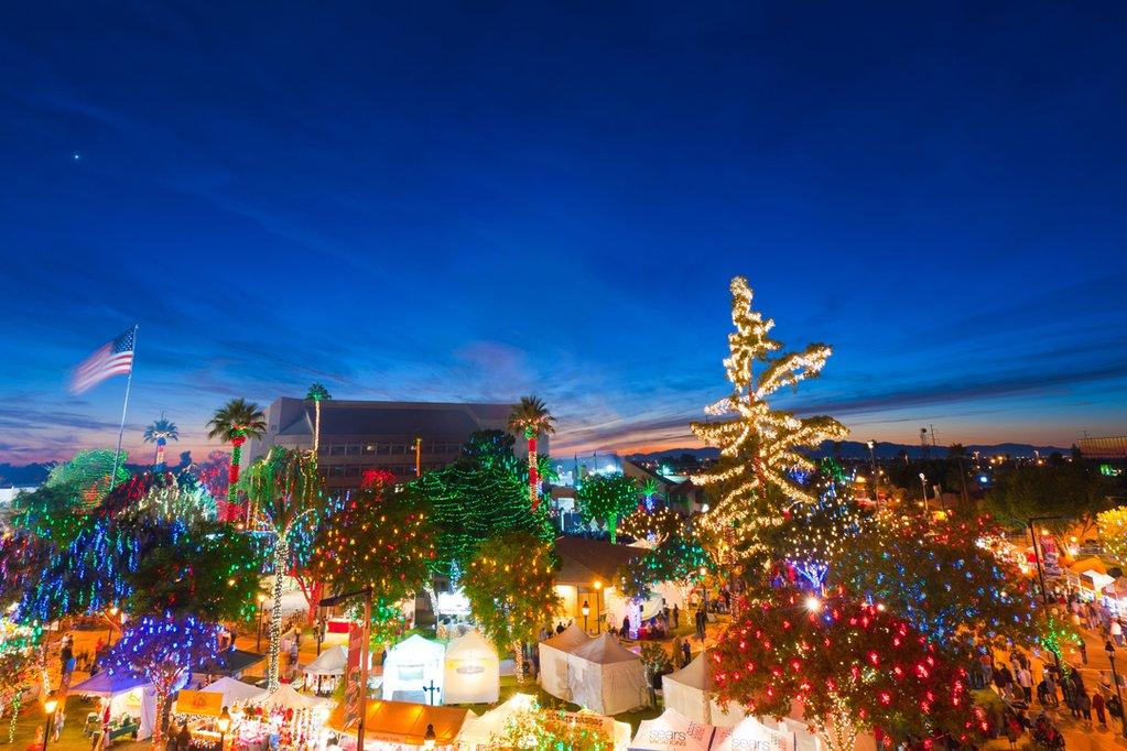 The Glendale Glitters event in Arizona.