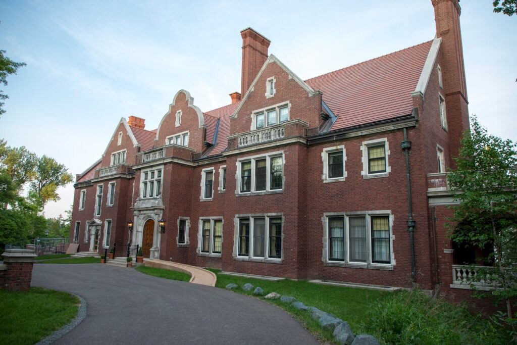 The Glensheen mansion in Duluth, Minnesota.