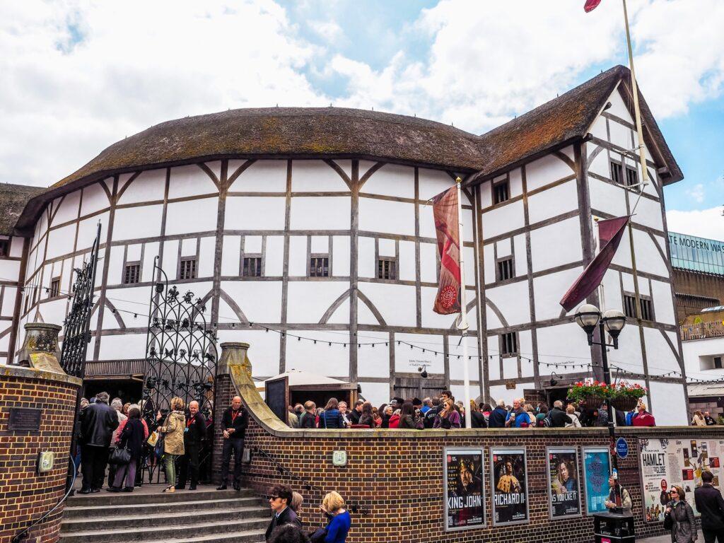 The Globe Theater in London.