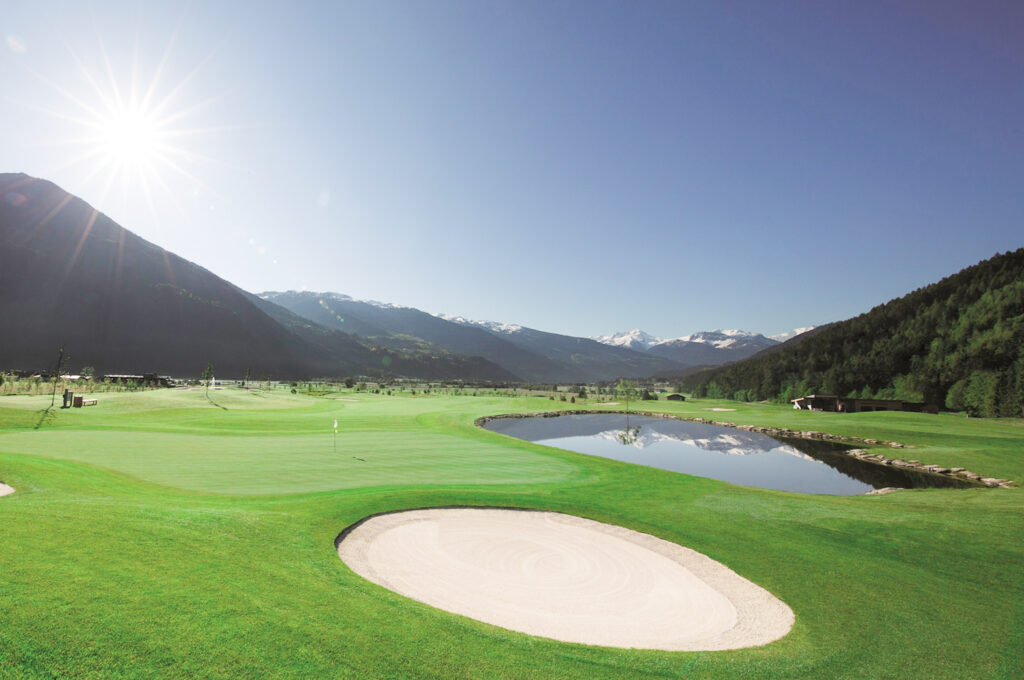 The golf course at Golf Club Zillertal.