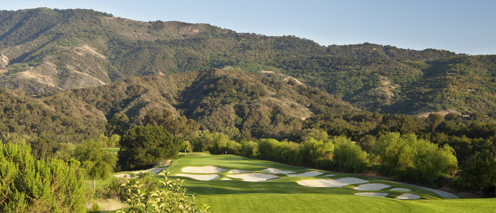 The golf course at Ojai Valley Inn.