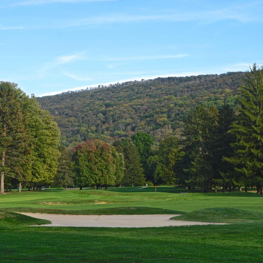 The Golf Resort in the Poconos.