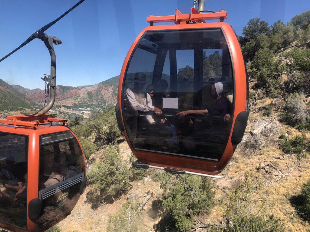 The gondola in Glenwood Springs, Colorado.