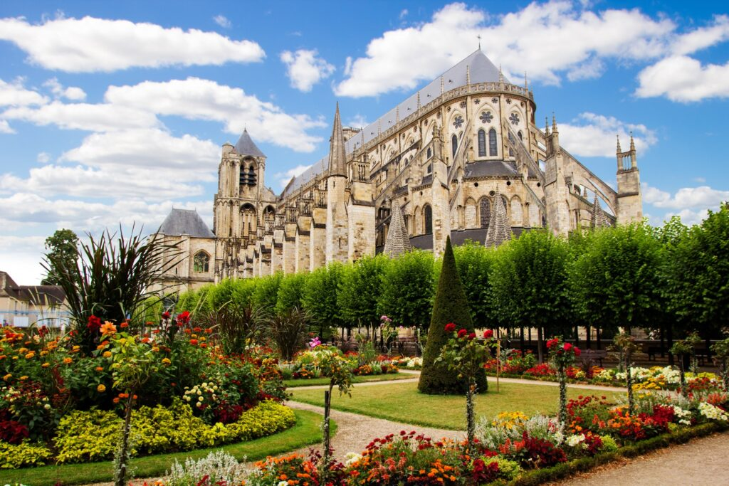 The Gothic Cathedral of Saint Etienne.