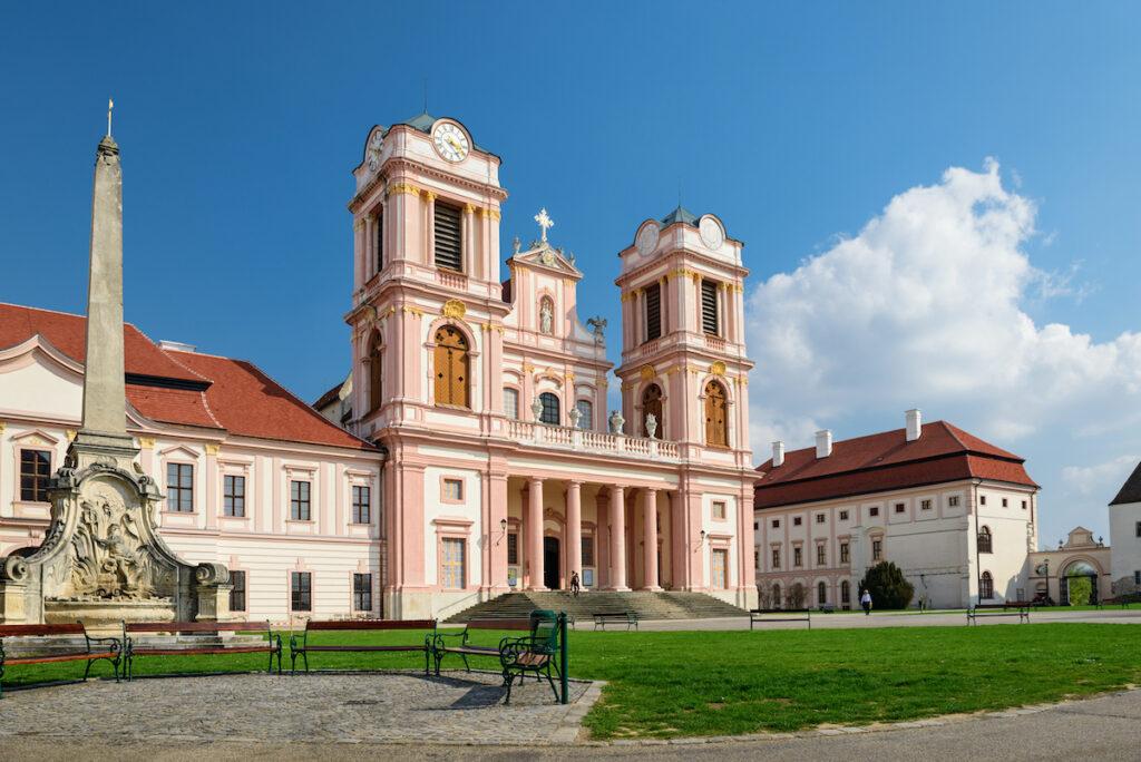 The Gottweig Abbey, a UNESCO Heritage Site in Austria.