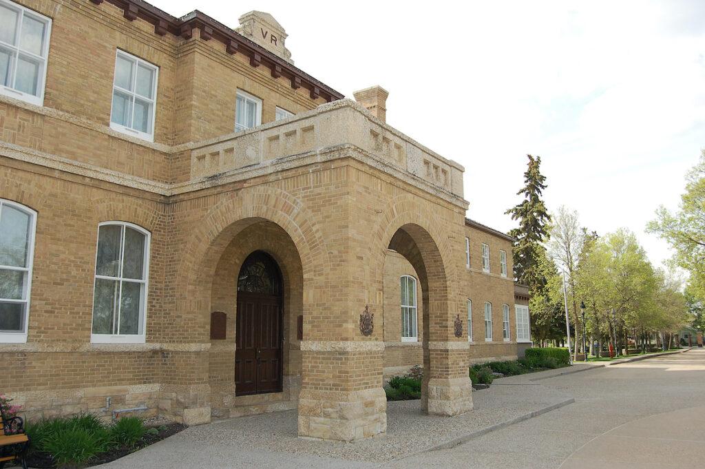 The Government House in Regina, Saskatchewan.