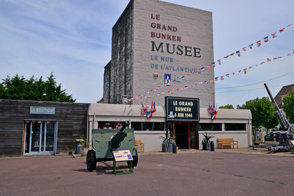 The Grand Bunker Museum on Sword Beach.