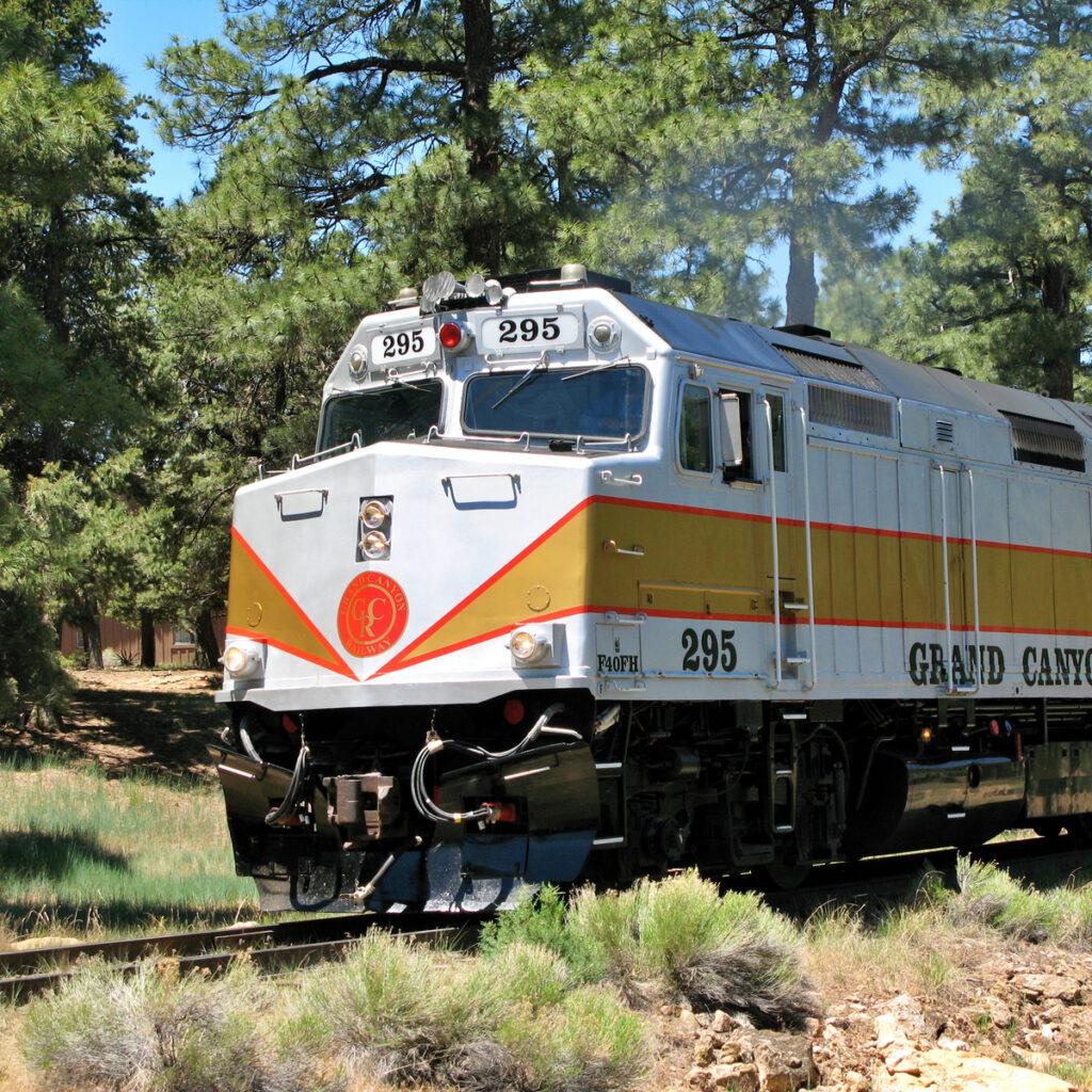 The Grand Canyon Railway.