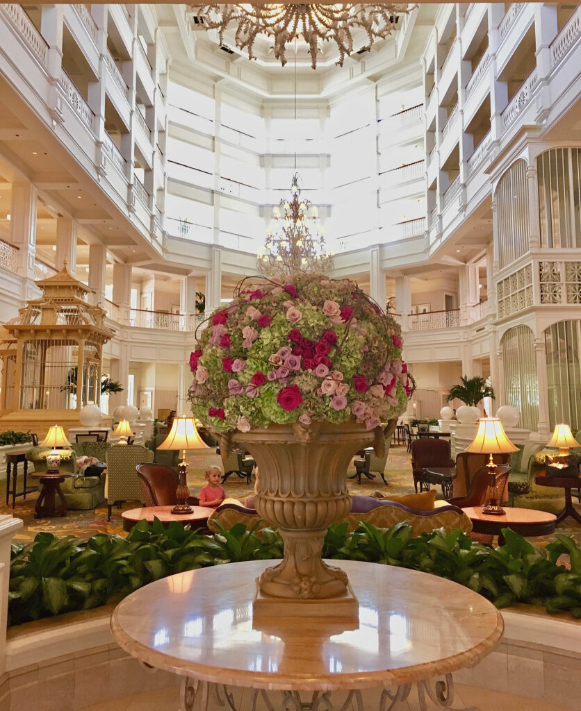The Grand Floridian Hotel.