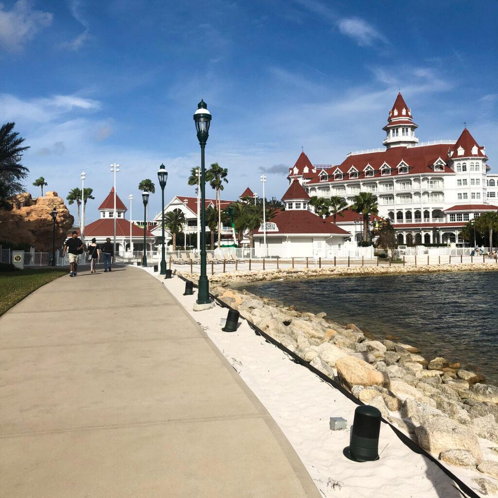 The Grand Floridian Resort.