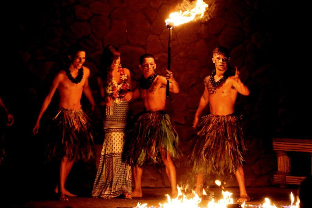 The Grand Luau at Honua'ula.