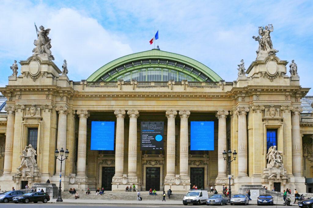 The Grand Palais Ephemere, home of the annual Art Paris fair.