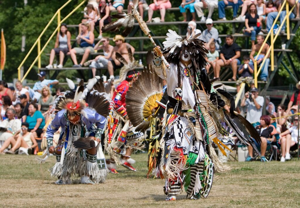 The Grand River Champion of Champions Pow Wow.