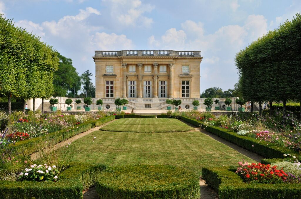 The Grand Trianon palace at Versailles.