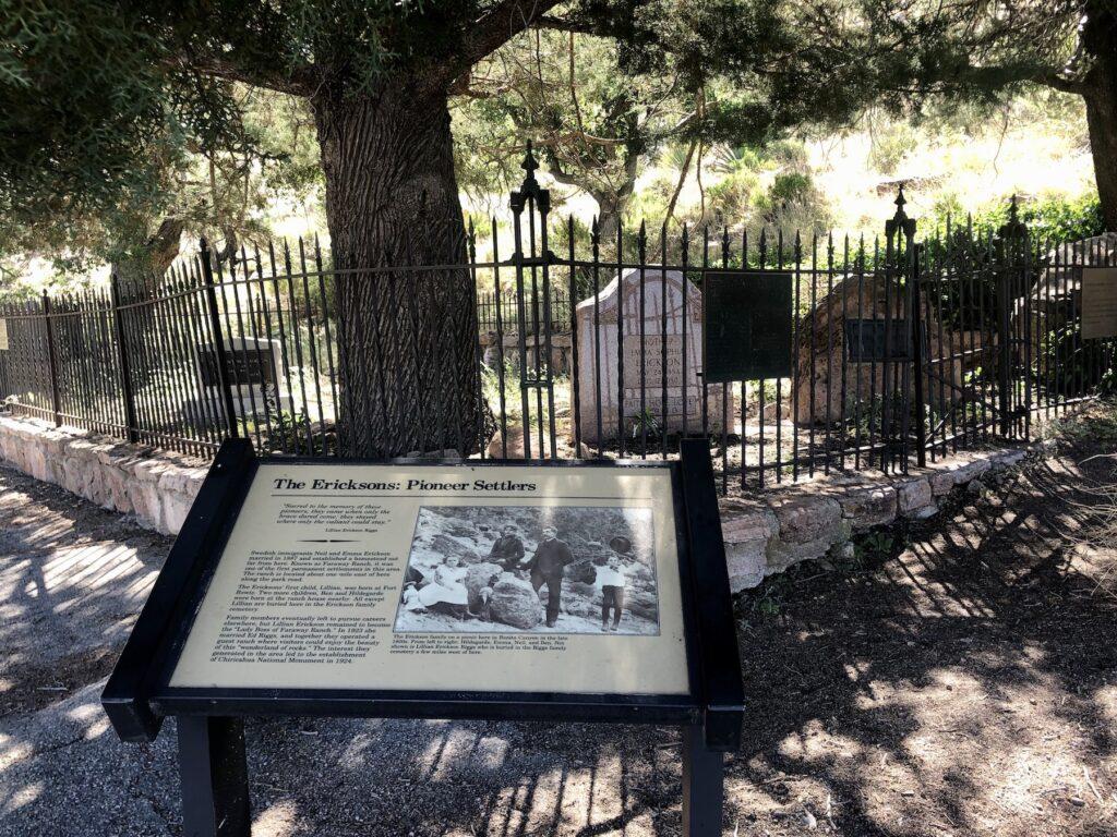The graveyard at Faraway Ranch.