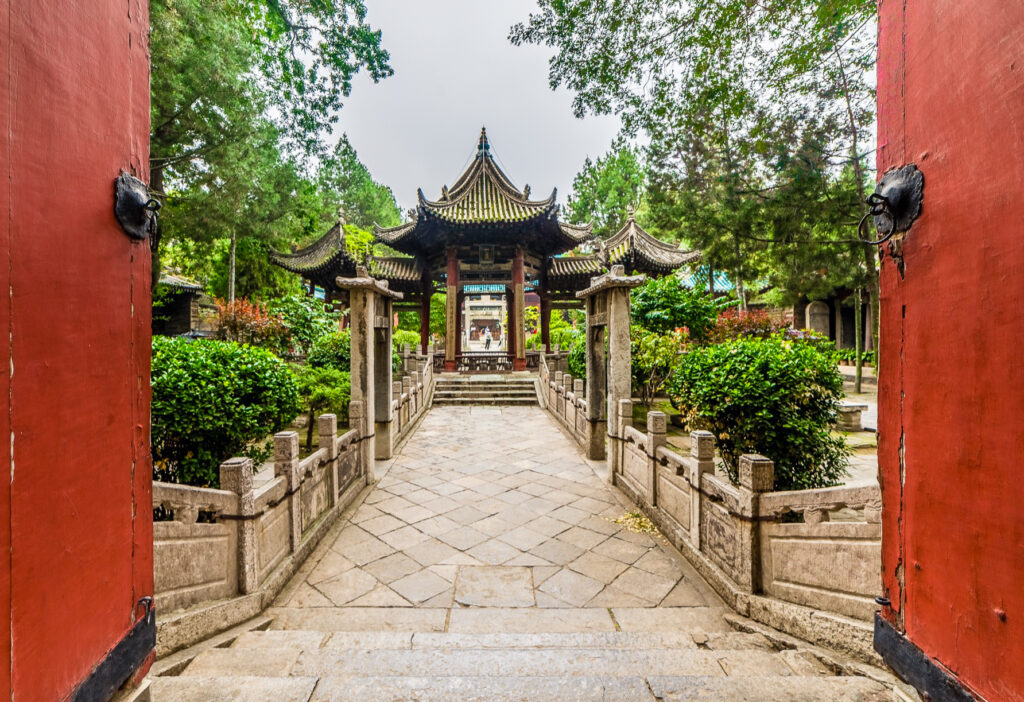 The Great Mosque in Xi'an.