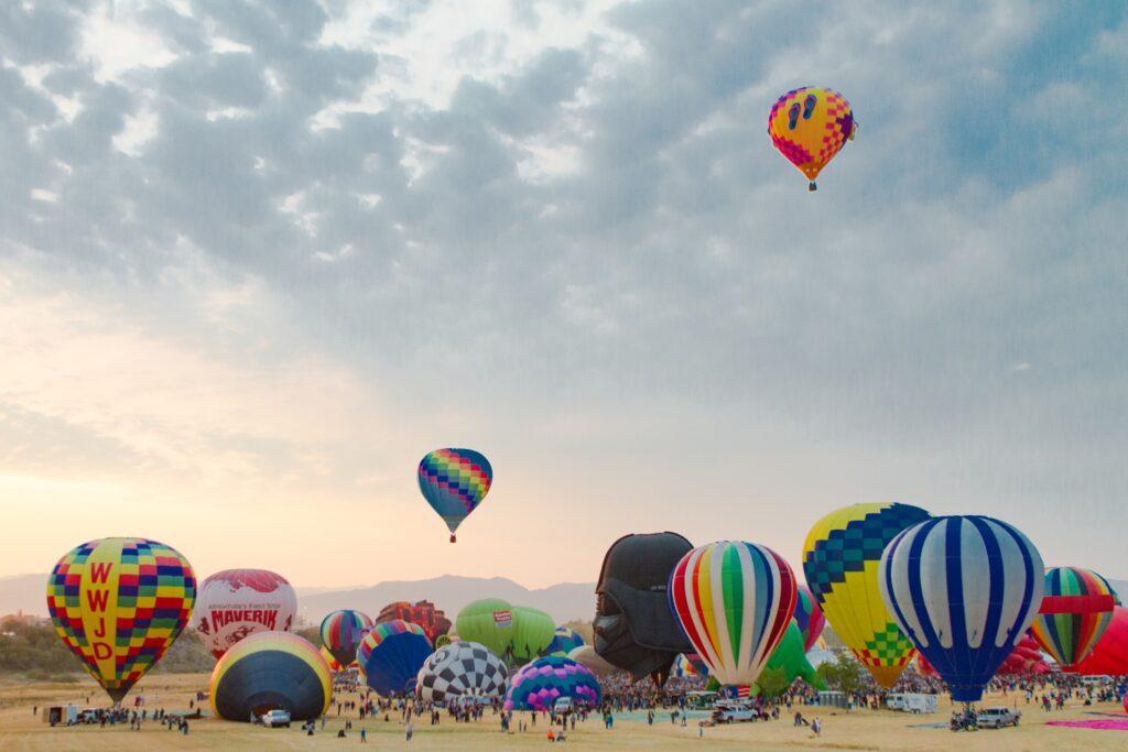 The Great Reno Balloon Race.
