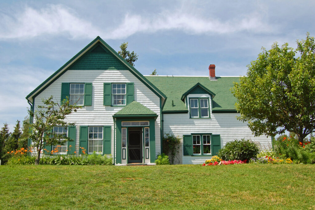 The Green Gables house in Cavendish, Prince Edward Island.