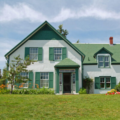 The Green Gables National Historic Site on Prince Edward Island.