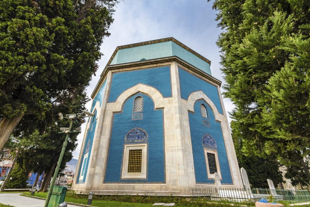 The Green Tomb of Sultan Mehmet in Bursa.