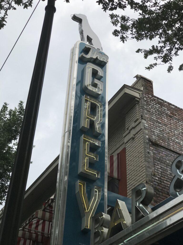 The Grey Restaurant in Savannah, Georgia.