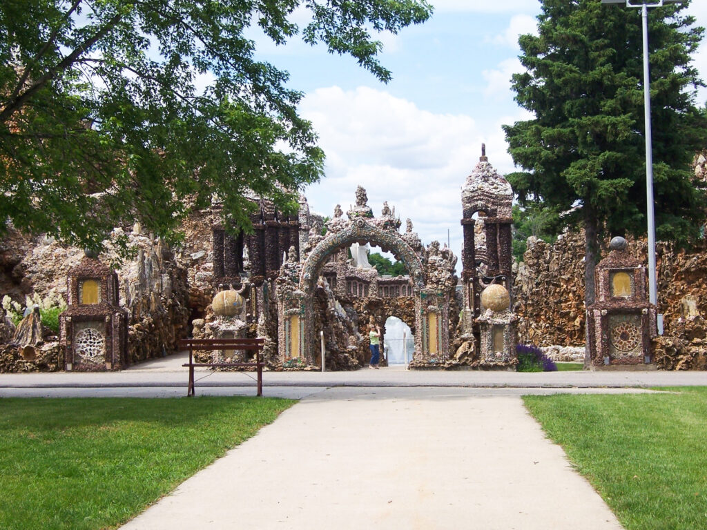 The Grotto Of The Redemption in Iowa.