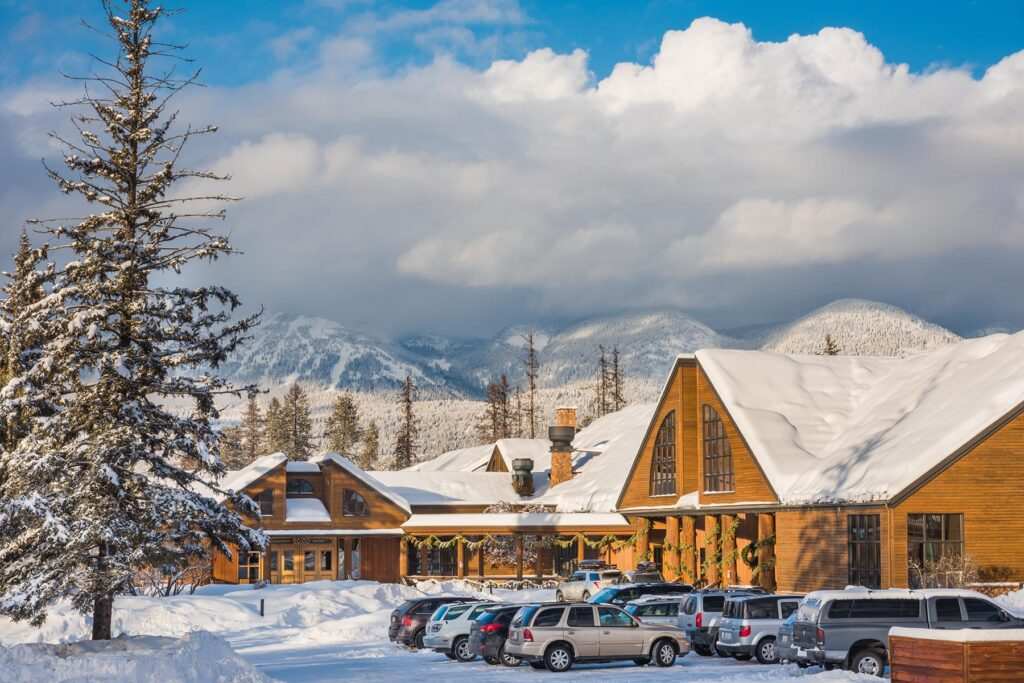 The Grouse Mountain Lodge in Whitefish, Montana.