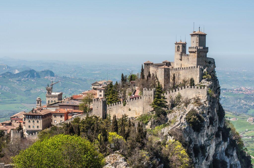 The Guaita Fortress in San Marino.